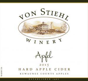 Apple Hard Cider Label
