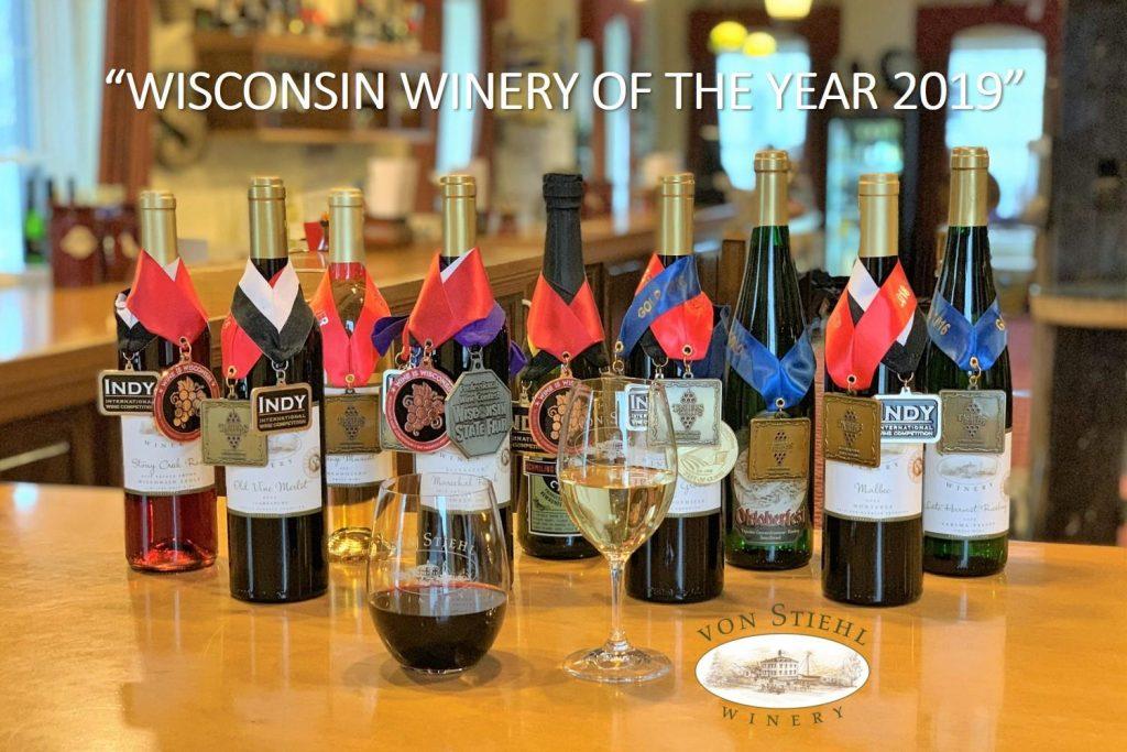 Wisconsin Winery of the Year 2019 - Von Stiehl Winery